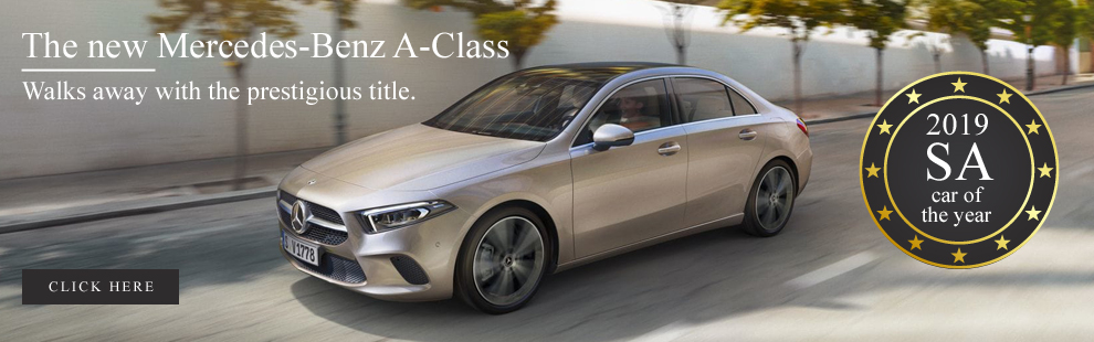 The new Mercedes-Benz A-Class - 2019 SA car of the year